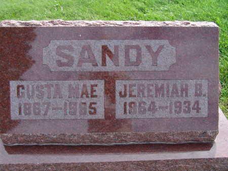 SANDY, JEREMIAH B - Warren County, Iowa | JEREMIAH B SANDY