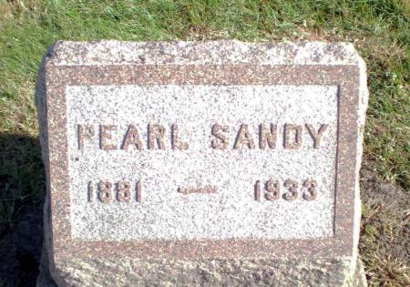 SANDY, PEARL - Warren County, Iowa | PEARL SANDY