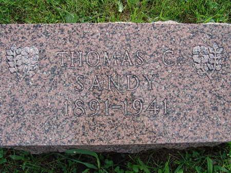 SANDY, THOMAS C - Warren County, Iowa | THOMAS C SANDY