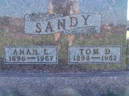 SANDY, ANAH L - Warren County, Iowa | ANAH L SANDY
