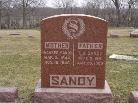 SANDY, T.D. - Warren County, Iowa | T.D. SANDY