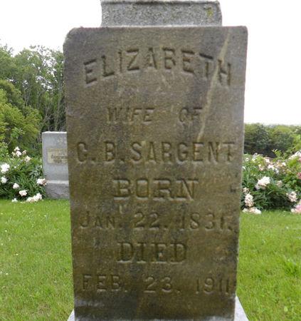 SARGENT, ELIZABETH - Warren County, Iowa   ELIZABETH SARGENT