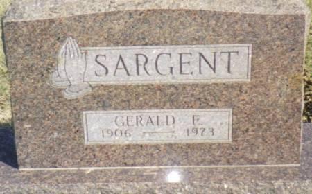 SARGENT, GERALD E. - Warren County, Iowa | GERALD E. SARGENT