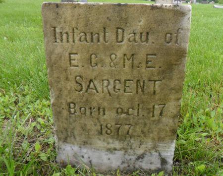 SARGENT, INFANT DAUGHTER - Warren County, Iowa | INFANT DAUGHTER SARGENT