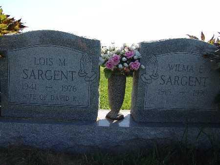 SARGENT, LOIS M. - Warren County, Iowa | LOIS M. SARGENT
