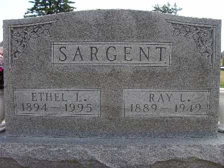 SARGENT, RAY L. - Warren County, Iowa | RAY L. SARGENT
