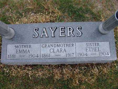 SAYERS, EMMA - Warren County, Iowa | EMMA SAYERS