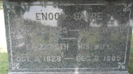 SAYRE, ENOCH - Warren County, Iowa | ENOCH SAYRE