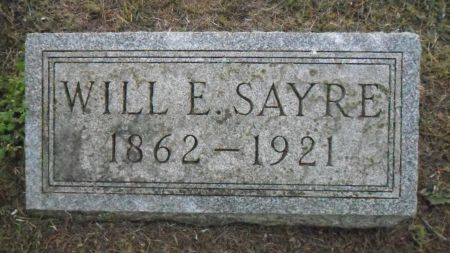 SAYRE, WILL E. - Warren County, Iowa | WILL E. SAYRE