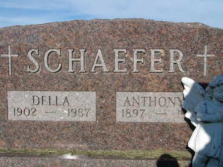 SCHAEFER, DELLA - Warren County, Iowa | DELLA SCHAEFER