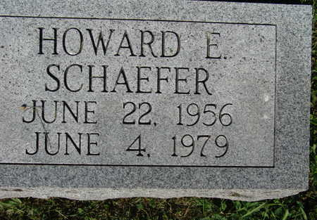 SCHAEFER, HOWARD E. - Warren County, Iowa | HOWARD E. SCHAEFER