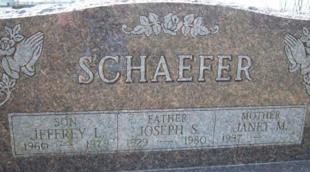 SCHAEFER, JEFFREY L. - Warren County, Iowa   JEFFREY L. SCHAEFER