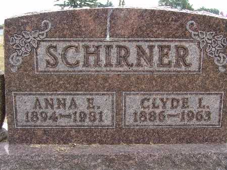 SCHIRNER, CLYDE L. - Warren County, Iowa | CLYDE L. SCHIRNER
