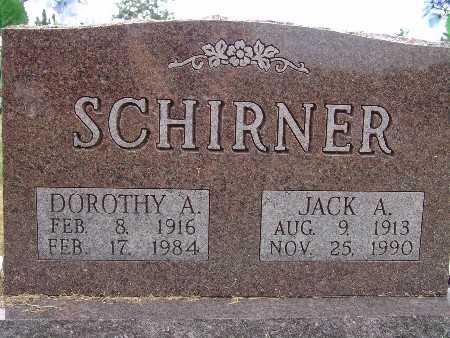 SCHIRNER, JACK A. - Warren County, Iowa | JACK A. SCHIRNER