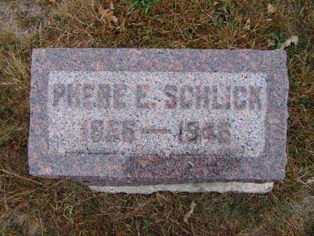 SCHLICK, PHEBE E. - Warren County, Iowa | PHEBE E. SCHLICK