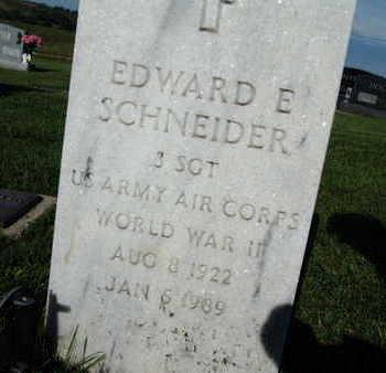 SCHNEIDER, EDWARD E. - Warren County, Iowa | EDWARD E. SCHNEIDER