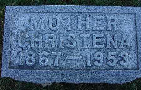 SCHREIBER, CHRISTENA - Warren County, Iowa | CHRISTENA SCHREIBER