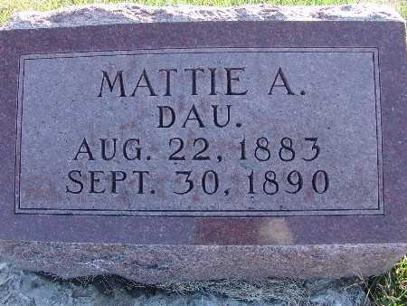 SCHREIBER, MATTIE A. - Warren County, Iowa | MATTIE A. SCHREIBER