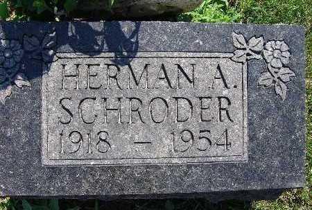 SCHRODER, HERMAN A. - Warren County, Iowa | HERMAN A. SCHRODER