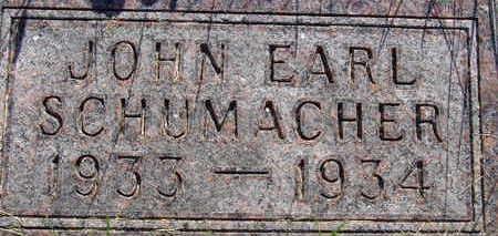 SCHUMACHER, JOHN EARL - Warren County, Iowa   JOHN EARL SCHUMACHER
