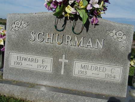 SCHURMAN, MILDRED C. - Warren County, Iowa | MILDRED C. SCHURMAN