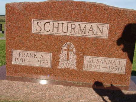 SCHURMAN, SUSANNA F. - Warren County, Iowa | SUSANNA F. SCHURMAN