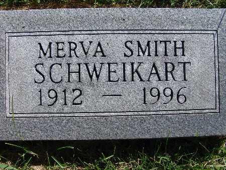 SCHWEIKART, MERVA SMITH - Warren County, Iowa | MERVA SMITH SCHWEIKART