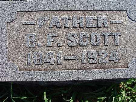 SCOTT, B. F. - Warren County, Iowa | B. F. SCOTT