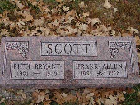 SCOTT, RUTH BRYANT - Warren County, Iowa | RUTH BRYANT SCOTT