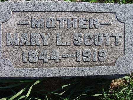 SCOTT, MARY L. - Warren County, Iowa | MARY L. SCOTT