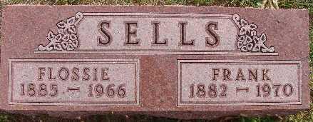 SELLS, FLOSSIE - Warren County, Iowa | FLOSSIE SELLS