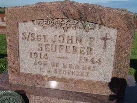 SEUFERER, JOHN F. - Warren County, Iowa   JOHN F. SEUFERER