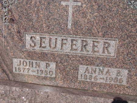 SEUFERER, JOHN P. - Warren County, Iowa | JOHN P. SEUFERER