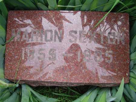 SEXTON, MARION - Warren County, Iowa | MARION SEXTON