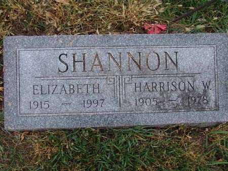 SHANNON, HARRISON W. - Warren County, Iowa | HARRISON W. SHANNON