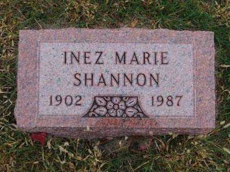 SHANNON, INEZ MARIE - Warren County, Iowa | INEZ MARIE SHANNON