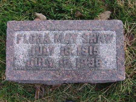 SHAW, FLORA MAY - Warren County, Iowa | FLORA MAY SHAW