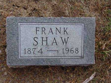 SHAW, FRANK - Warren County, Iowa | FRANK SHAW