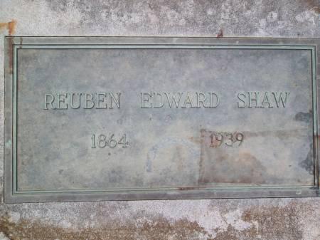 SHAW, REUBEN EDWARD - Warren County, Iowa | REUBEN EDWARD SHAW