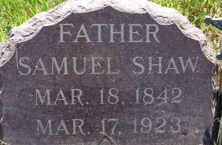 SHAW, SAMUEL - Warren County, Iowa | SAMUEL SHAW