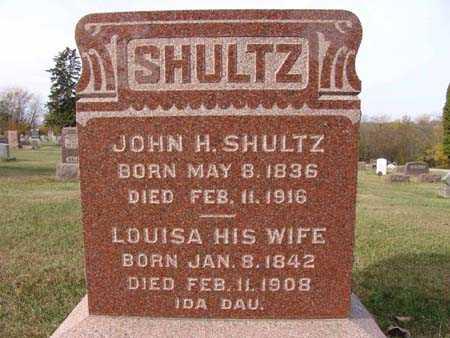 SHULTZ, LOUISE - Warren County, Iowa | LOUISE SHULTZ