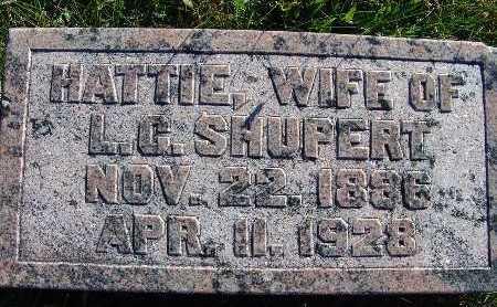 SHUPERT, HATTIE - Warren County, Iowa | HATTIE SHUPERT