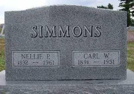 SIMMONS, NELLIE P. - Warren County, Iowa | NELLIE P. SIMMONS
