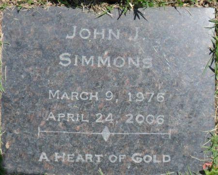 SIMMONS, JOHN J. - Warren County, Iowa | JOHN J. SIMMONS