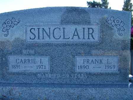 SINCLAIR, FRANK L. - Warren County, Iowa | FRANK L. SINCLAIR