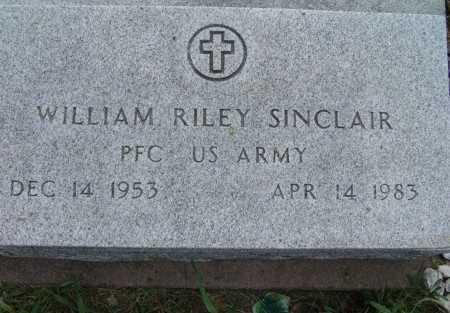 SINCLAIR, WILLIAM RILEY - Warren County, Iowa | WILLIAM RILEY SINCLAIR