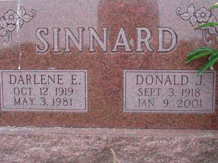 SINNARD, DONALD J. - Warren County, Iowa | DONALD J. SINNARD