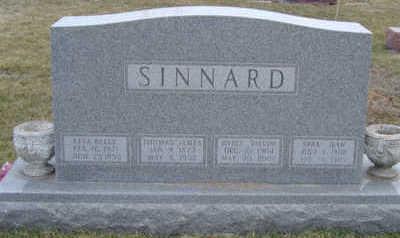 SINNARD, SARA JEAN - Warren County, Iowa | SARA JEAN SINNARD