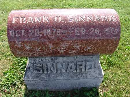 SINNARD, FRANK O. - Warren County, Iowa | FRANK O. SINNARD
