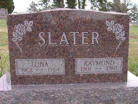SLATER, EDNA - Warren County, Iowa | EDNA SLATER